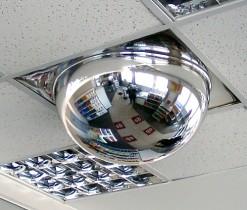 Зеркало купольное Detex Line Армстронг, 600 мм