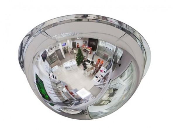 Зеркало купольное Detex Line, 800 мм