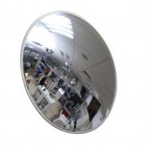 Зеркало для помещения Detex Line, 430 мм, с белым  кантом