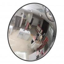 Зеркало для помещения Detex Line, 300 мм, с черным кантом
