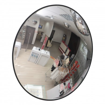 Зеркало для помещения Detex Line, 610 мм, с черным кантом