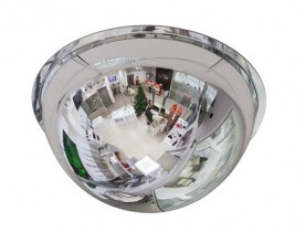 Зеркало купольное Detex Line, 600 мм