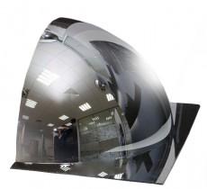 1/2 купольного полусферического зеркала DL 600 мм, без канта